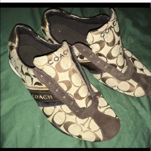 Coach shoes in used condition